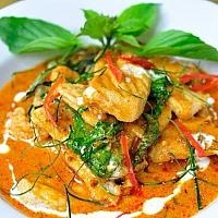 Panang Curry with Pork