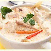 Chicken & Galangal in Coconut Milk Soup