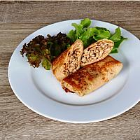 Stuffed pancakes (meat-rice 4 pcs) / Блины фаршированные (мясо-рис 4 шт)