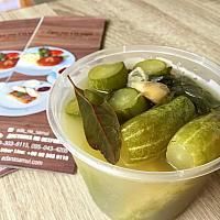 Barrel pickled cucumbers (600 gr) / Огурцы солёные бочковые ( 600 гр)