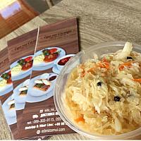 Pickled cabbage (600 gr) / Капуста квашенная ( 600 гр)