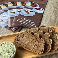 Rye bread from its own bakery / Хлеб ржаной из собственной пекарни (батон)