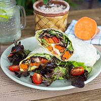 Sweet potato wrap