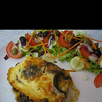 Greek Lamb Moussaka.