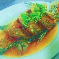 Deep Fried White Snapper With Fish Sauce