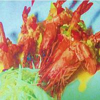 Deep Fried tiger Prawn with Butter Lemon