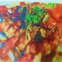 Deep Fried tiger Prawn with Tamarind Sauce