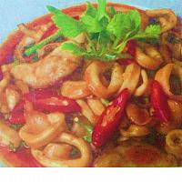 Calamari with Chili Paste
