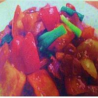 Fried Sweet Sour Sauce with Chicken