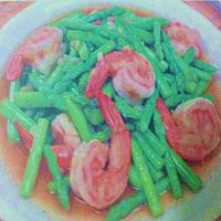 Asparagus with Shrimp
