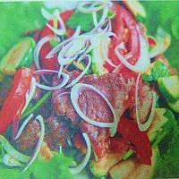 Spicy Salad Thai Style with Beef