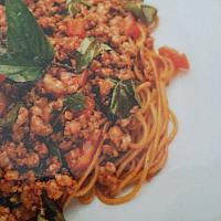 thai basil spaghetti seafood