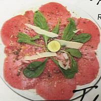 Carppaccio Tuna
