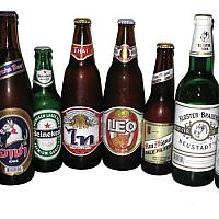 Beer Chang,Singha,Tiger,Leo small 100 Baht/ Big 150 Baht