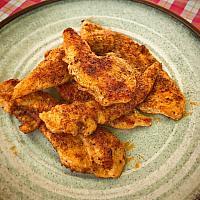 plate chicken grill