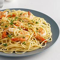 Spaghetti Garlic/Shrimp