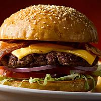 Super Burger double cheese double beef