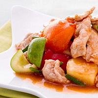 Sweet and Sour with chicken