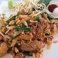Phad Thai with Pork