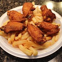 Chicken Wings and Chips