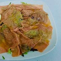 Carpaccio Salmone