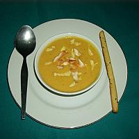 Chicken with Sweet Corn Soup