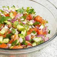 Arbi Salad
