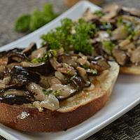 Bruschetta Mushrooms