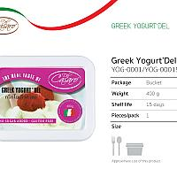 Greek Yogurt 400 gr.