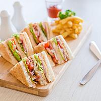 Secret Garden Club Sandwich