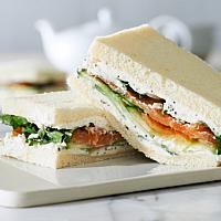 Sandwich Smoked Salmon & Cream Cheese