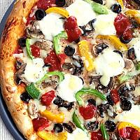 Vegetarian Pizza (v)