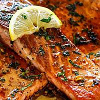 Crispy Salmon Fillet