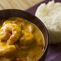 Kaeng Kung (Prawn, Pineapple & Curry Paste)