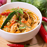 Phanaeng Curry with Chicken
