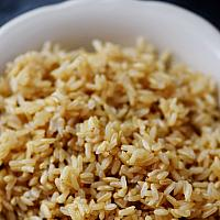 Steamed Organic Brown Rice