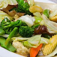 Stir Fried Mixed Vegetables with Oyster Sauce