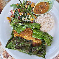 Grilled Miang Kham Sea bass