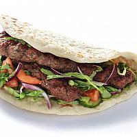 Beef balls kebab
