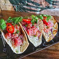 x3 tuna tacos