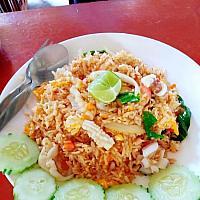 Khao pad kung/plamuk