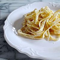 Lemon & parmesan fettuccine