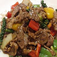 Ped Phad Kee Mao | Жареная утка с перцем чили | 辣炒鸭肉