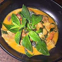 Gaeng Phed Ped Yang   Красный карри с утиной   红咖哩烤鸭