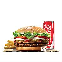 DOUBLE WHOPPER CHEESE VALUE MEAL (BEEF)