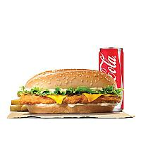 EXTRA LONG CHICKEN CHEESE VALUE MEAL