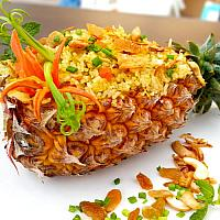 Thai Pineapple Fried Rice ข้าวผัดสับปะรด (菠蘿炒飯)