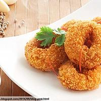 Fried shrimp cake