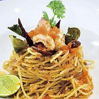 Spaghetti Tom Yum Kung