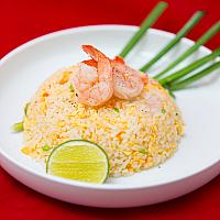Fried Rice with Shrimps (Large) #0046 (L)